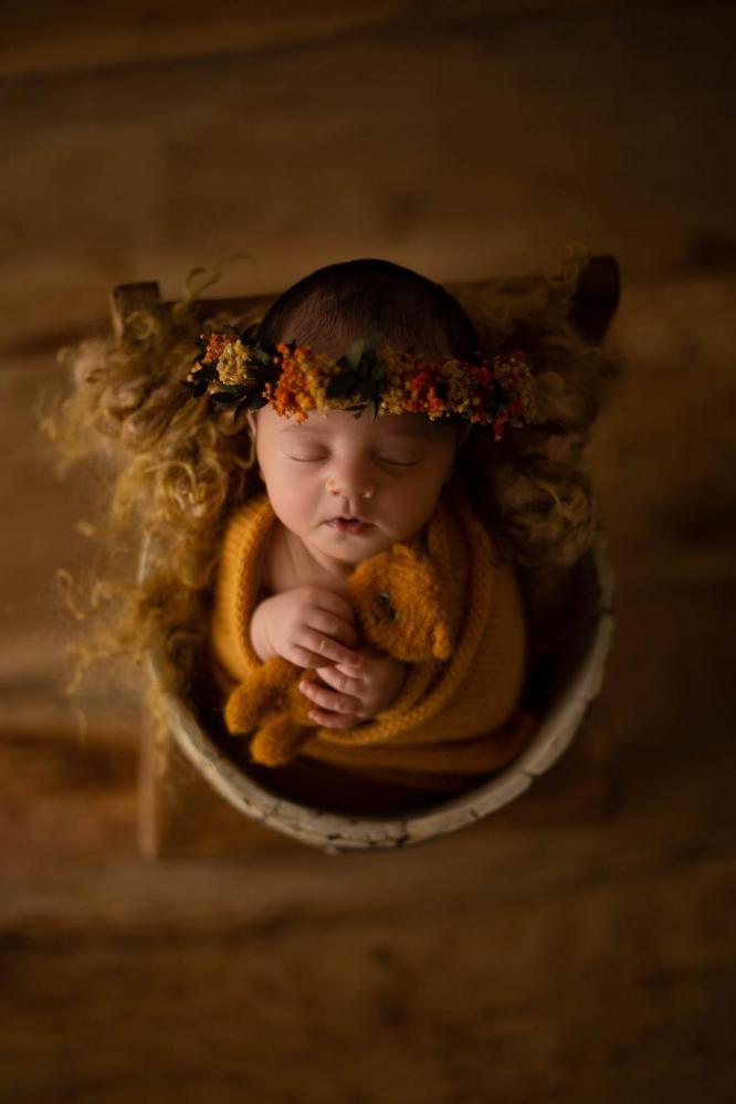 Sandra collignon photographe naissance en moselle nancy metz luxembourg lyana 2 rose