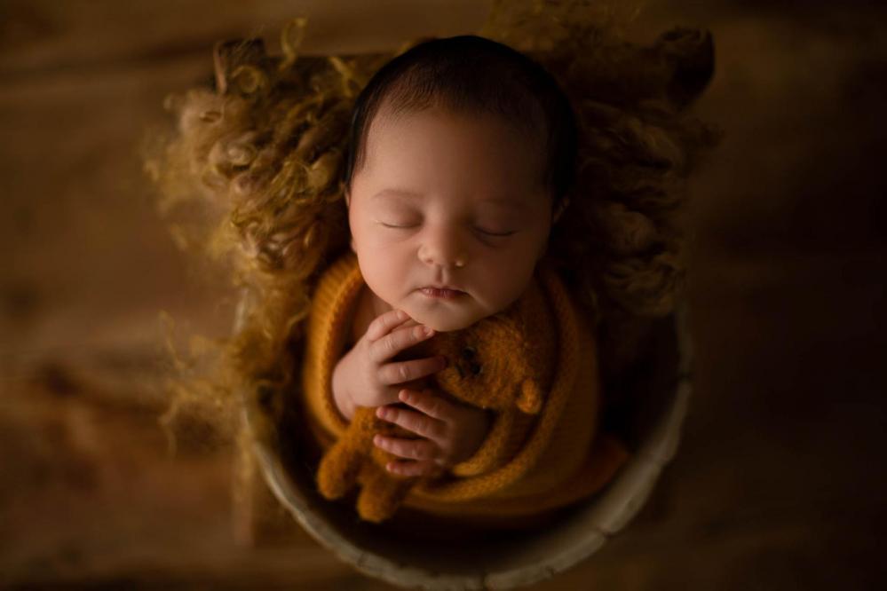 Sandra collignon photographe naissance en moselle nancy metz luxembourg rose 2