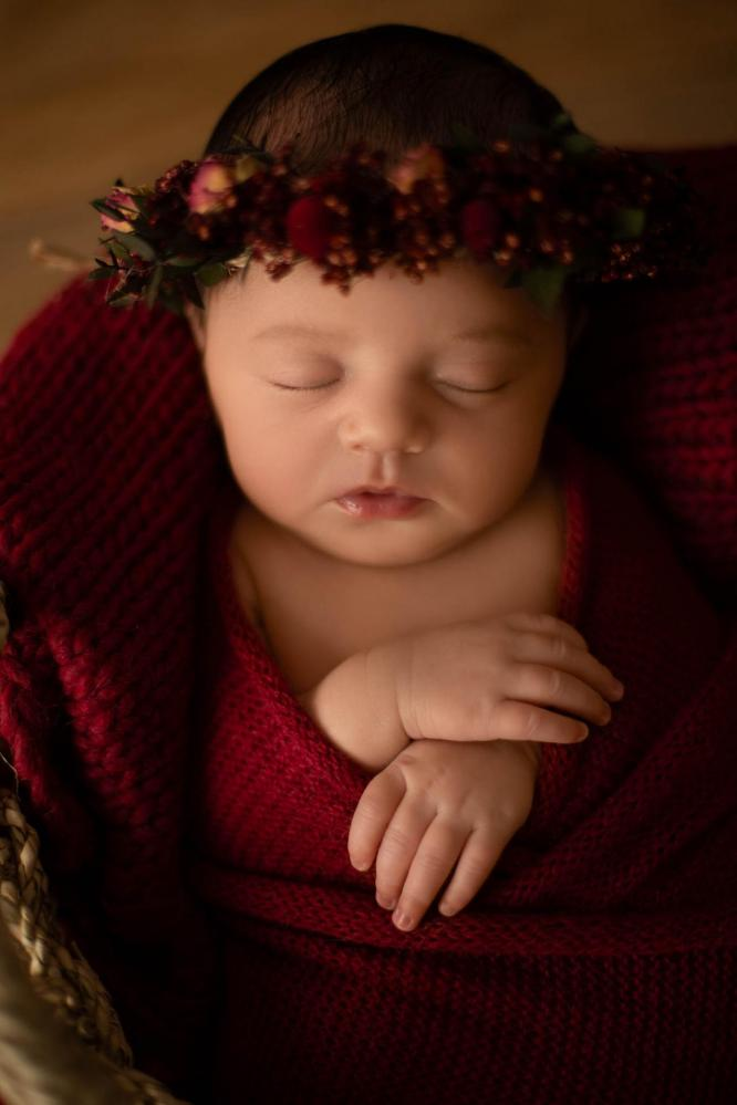 Sandra collignon photographe naissance en moselle nancy metz luxembourg rose